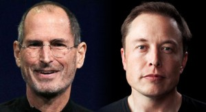 Steve Jobs and Elon Musk