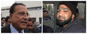 Guvernøren (venstre) ble drept av terroristen